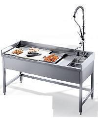 Stolovi za pripremu povrća, mesa i ribe